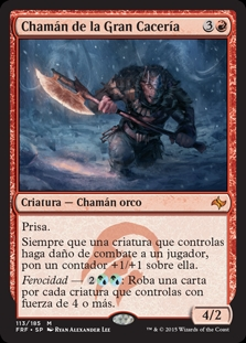 Chamán de la Gran Cacería - Shaman of the Great Hunt