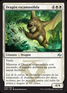Dragón escamasólida - Wardscale Dragon