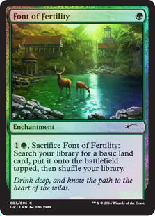 Fuente de la fertilidad - Font of Fertility (Promo Foil)