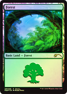 Bosque - Forest (Foil)