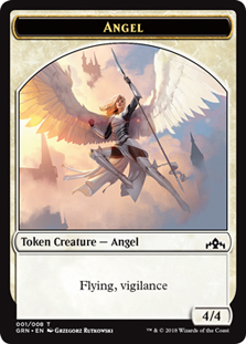 Angel Token - Ficha de Ángel