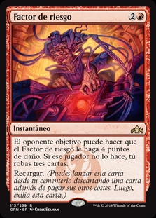 Factor de riesgo - Risk Factor (Foil)
