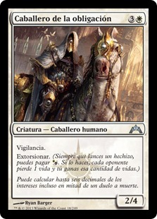 Caballero de la obligación - Knight of Obligation