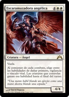 Escaramuzadora angélica - Angelic Skirmisher