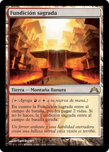 Fundición sagrada - Sacred Foundry
