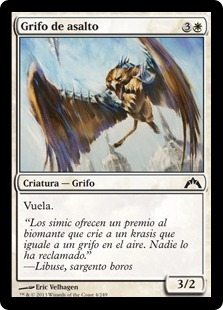 Grifo de asalto - Assault Griffin