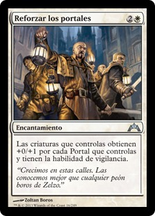 Reforzar los portales - Hold the Gates