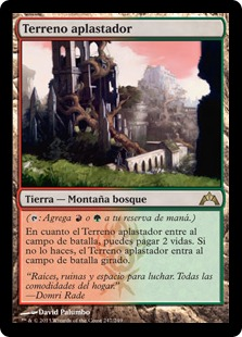 Terreno aplastador - Stomping Ground