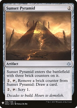 Pirámide del ocaso - Sunset Pyramid (Mystery Booster)