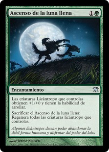 Ascenso de la luna llena - Full Moon's Rise