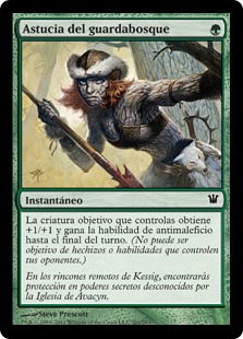 Astucia del guardabosque - Ranger\'s Guile