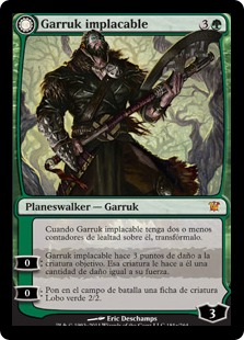 Garruk implacable - Garruk Relentless