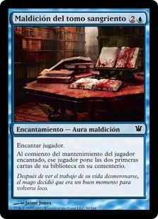 Maldición del tomo sangriento - Curse of the Bloody Tome