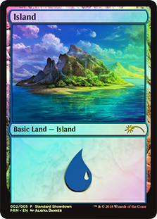 Isla - Island (Foil)(Standard Showdown)