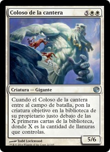 Coloso de la cantera - Quarry Colossus