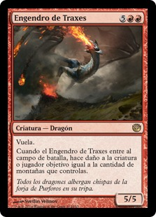 Engendro de Traxes - Spawn of Thraxes