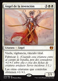 Ángel de la invención - Angel of Invention (Foil)
