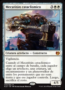 Mecatitán cataclísmico - Cataclysmic Gearhulk