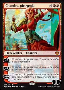 Chandra, pirogenia - Chandra, Pyrogenius (Foil)