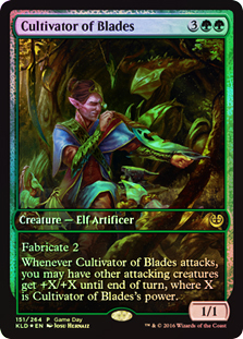 Cultivafilos - Cultivator of Blades (Game Day)(Firmada)