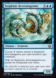 Serpiente devoraingenios - Gearseeker Serpent