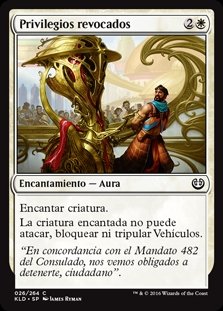 Privilegios revocados - Revoke Privileges (Foil)