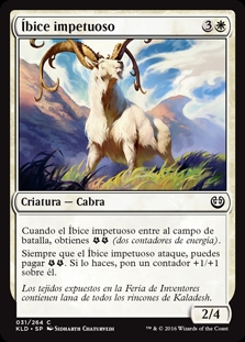 Íbice impetuoso - Thriving Ibex (Foil)