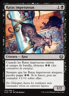 Ratas impetuosas - Thriving Rats