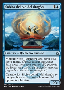 Sabios del ojo del dragón - Dragon's Eye Savants (Foil)
