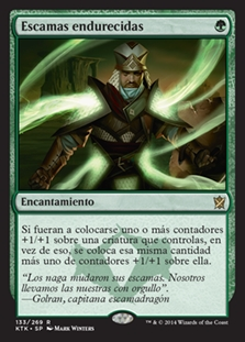 Escamas endurecidas - Hardened Scales