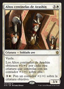 Altos centinelas de Arashin - High Sentinels of Arashin