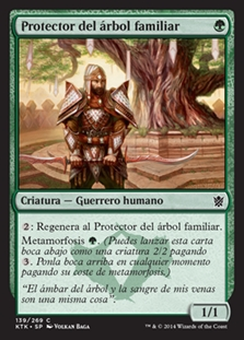 Protector del árbol familiar - Kin-Tree Warden