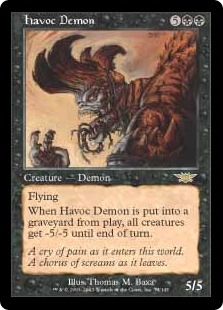 Demonio devastador - Havoc Demon (Foil)