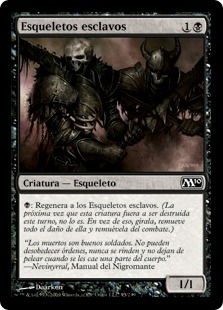 Esqueletos esclavos - Drudge Skeletons