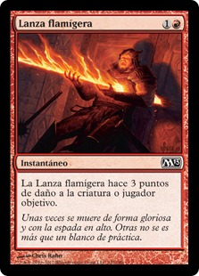 Lanza flamí­gera - Searing Spear