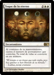 Toque de lo eterno - Touch of the Eternal