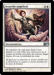 Acuerdo angelical - Angelic Accord