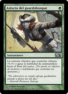 Astucia del guardabosque - Ranger's Guile