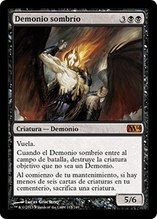 Demonio sombrío - Shadowborn Demon