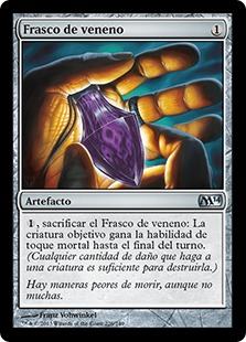 Frasco de veneno - Vial of Poison (Foil)
