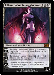 Liliana de los Reinos Oscuros - Liliana of the Dark Realms