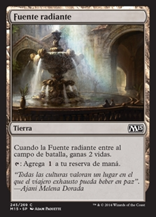 Fuente radiante - Radiant Fountain