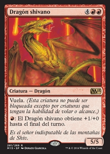 Dragón shivano - Shivan Dragon