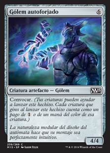 Gólem autoforjado - Will-Forged Golem