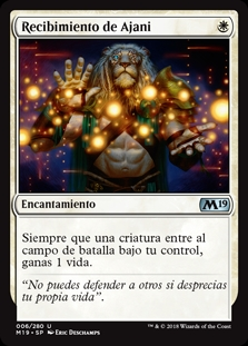 Recibimiento de Ajani - Ajani's Welcome