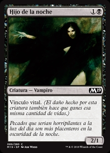 Hijo de la noche - Child of Night (Foil)