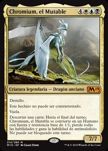 Chromium, el Mutable - Chromium, the Mutable (Pre-Release)(Foil)