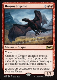 Dragón exigente - Demanding Dragon