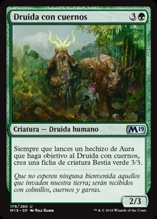 Druida con cuernos - Druid of Horns