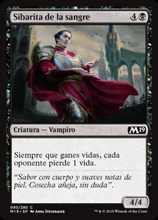 Sibarita de la sangre - Epicure of Blood (Foil)